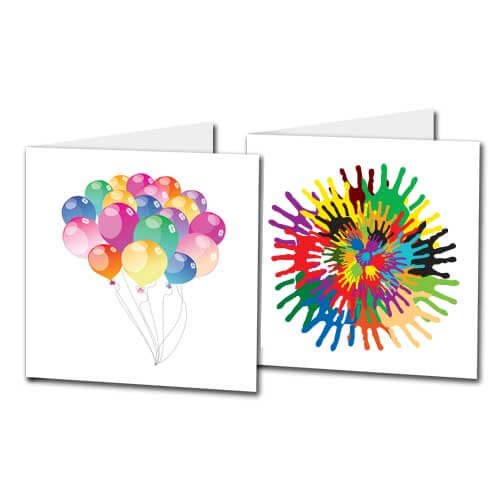 Kids Colourful Photo Cards